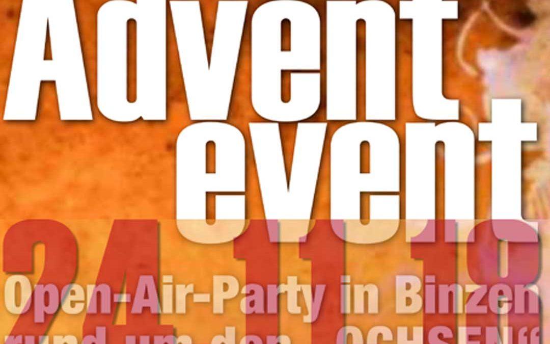 Das legendäre Ochsen Advent-Event findet wieder statt!